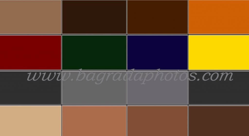цвета для фотосессии
