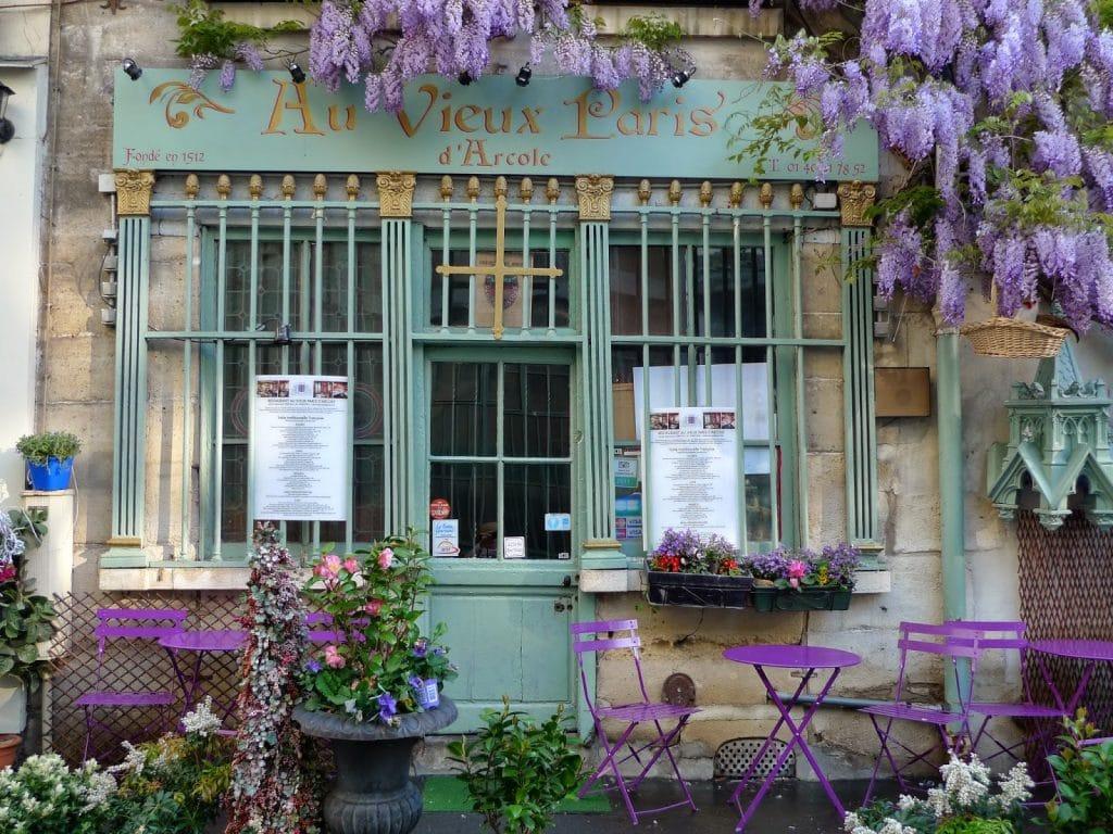 Au Vieux Parisd'Arcole glycines