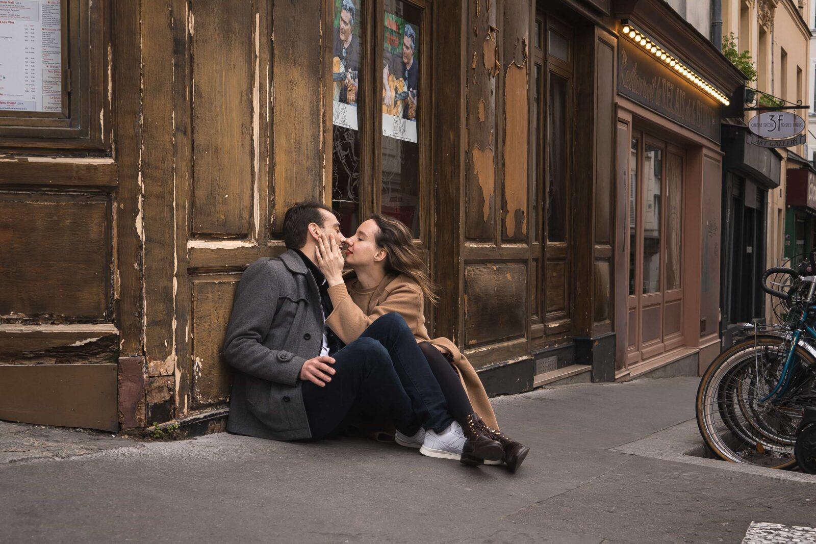 фотосессия на Монмартре